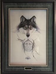 All One Family framed