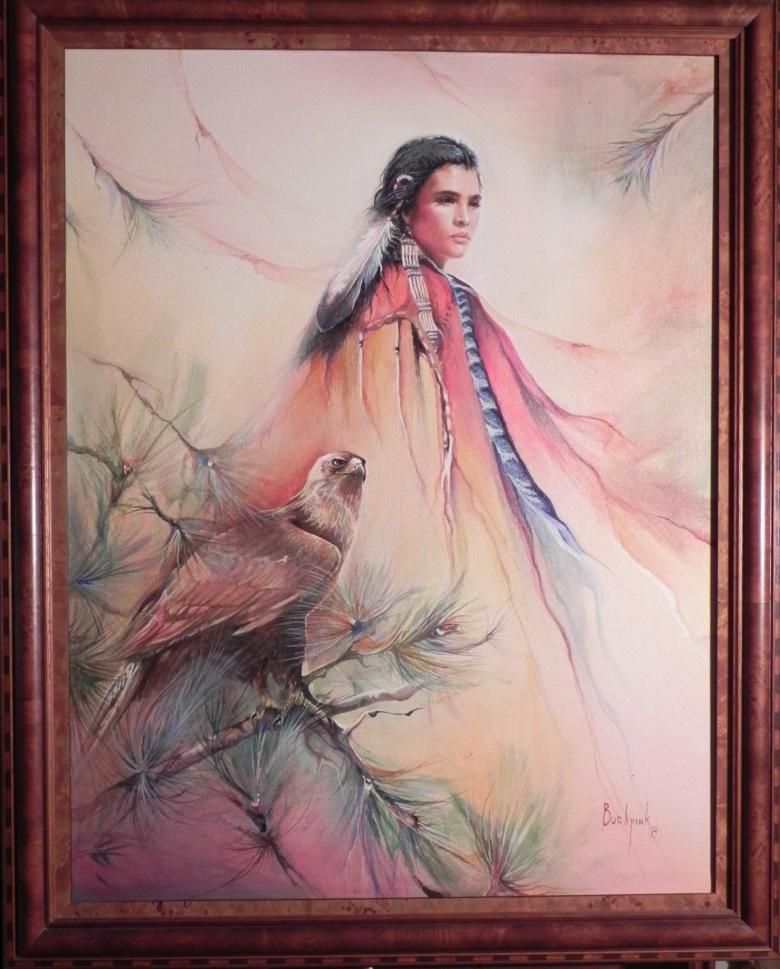 Dream Dancer Original framed