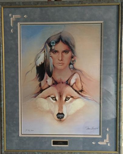 Lobo framed