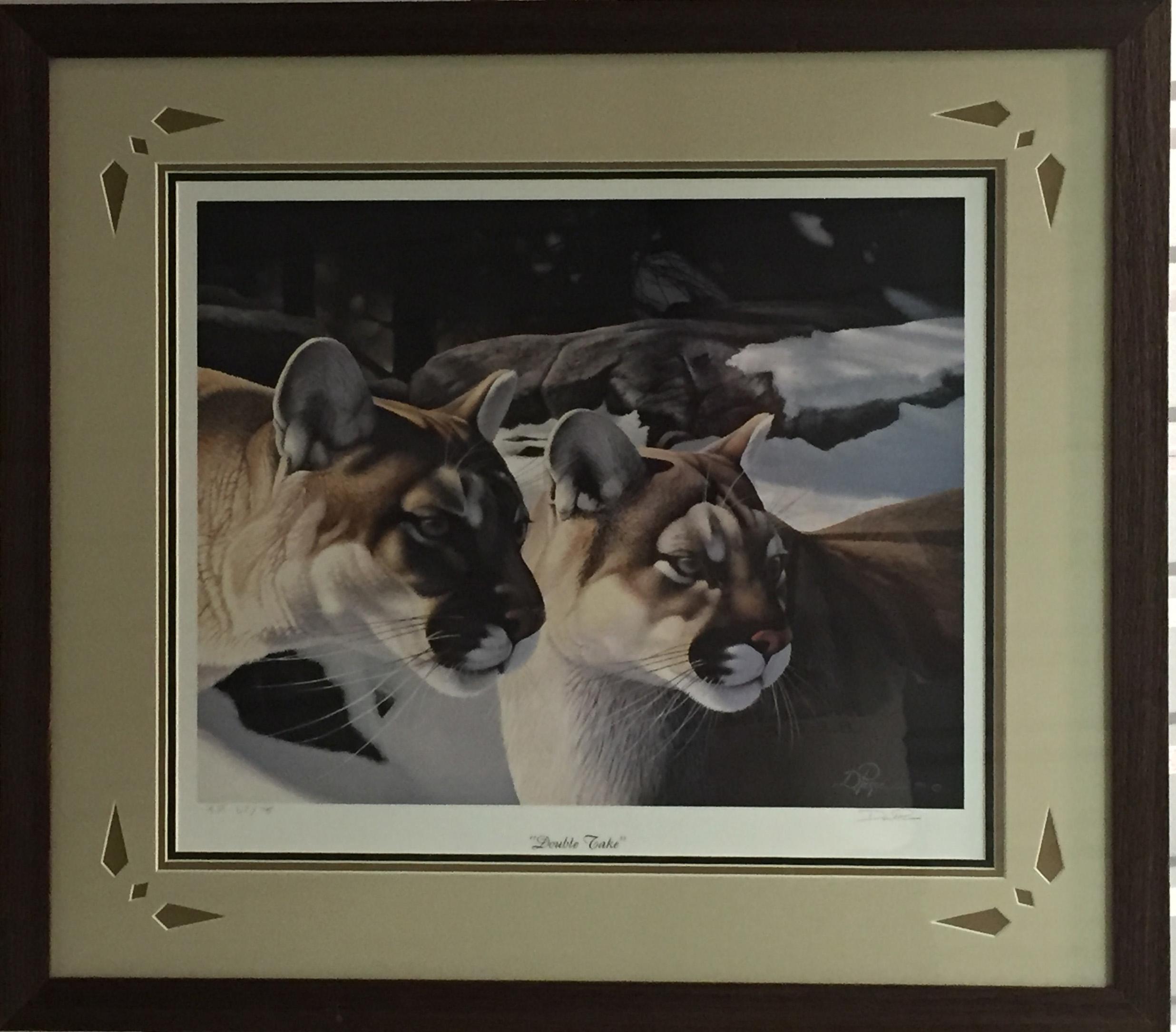 Pierce - Double Take framed