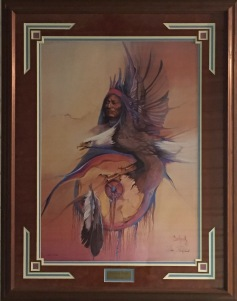 Shield of the Eagle framed