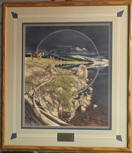 The Sentinel-framed