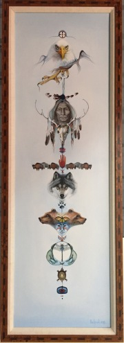 Totem Original framed