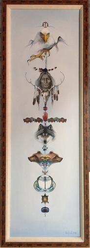 Totem Original framed