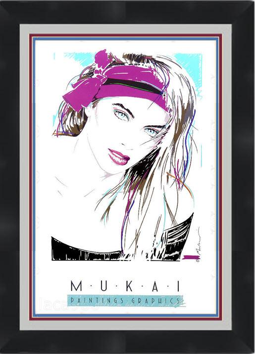 Tiffany Mauki-framed